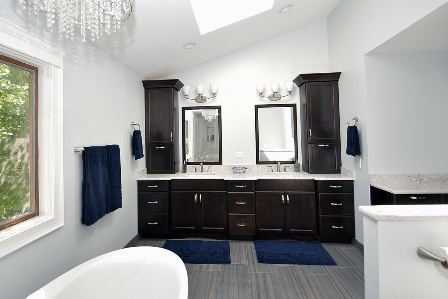 Charlotte M Long Grove Master Bath After 1