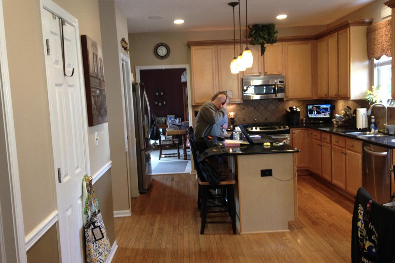 Diane P Bartlett Kitchen Before 1
