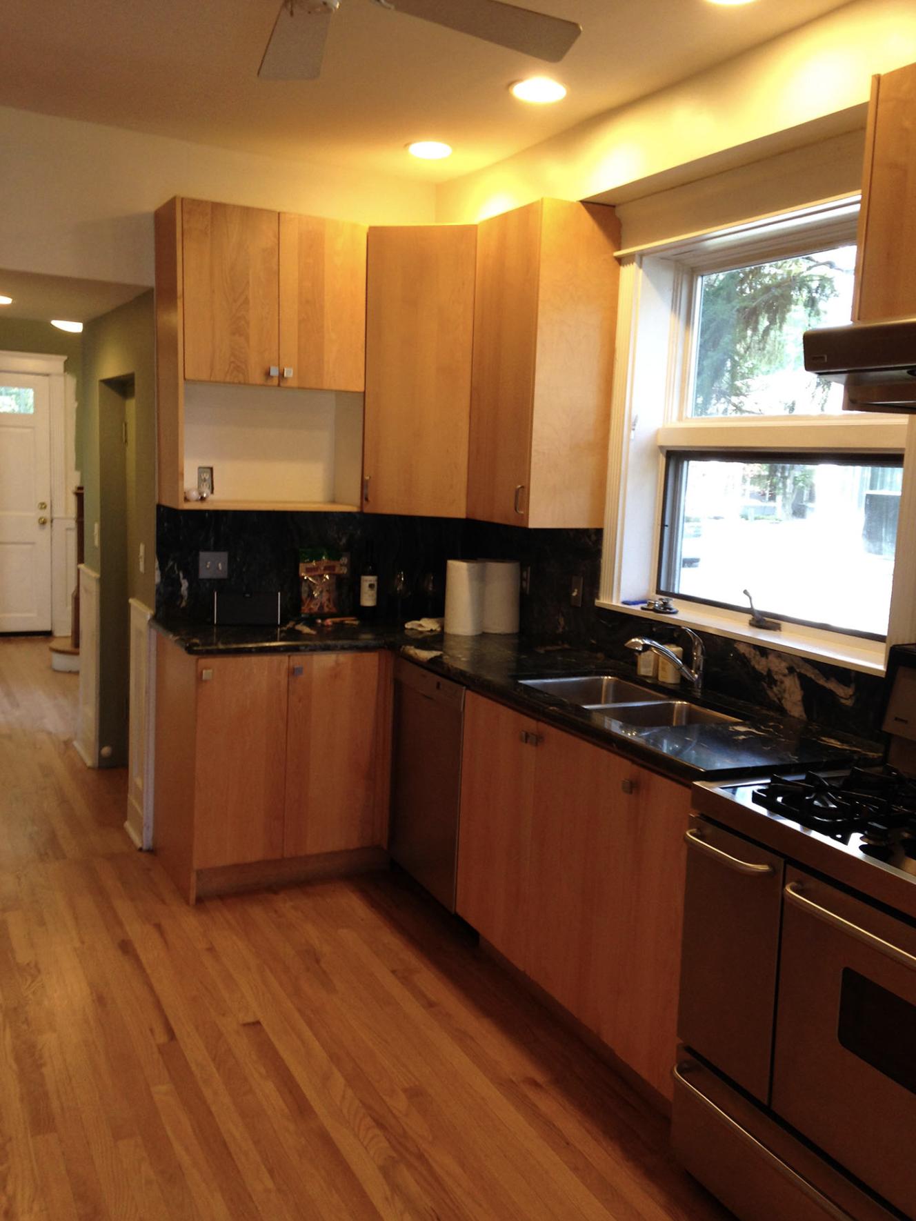 Erin B Park Ridge Kitchen Before 2
