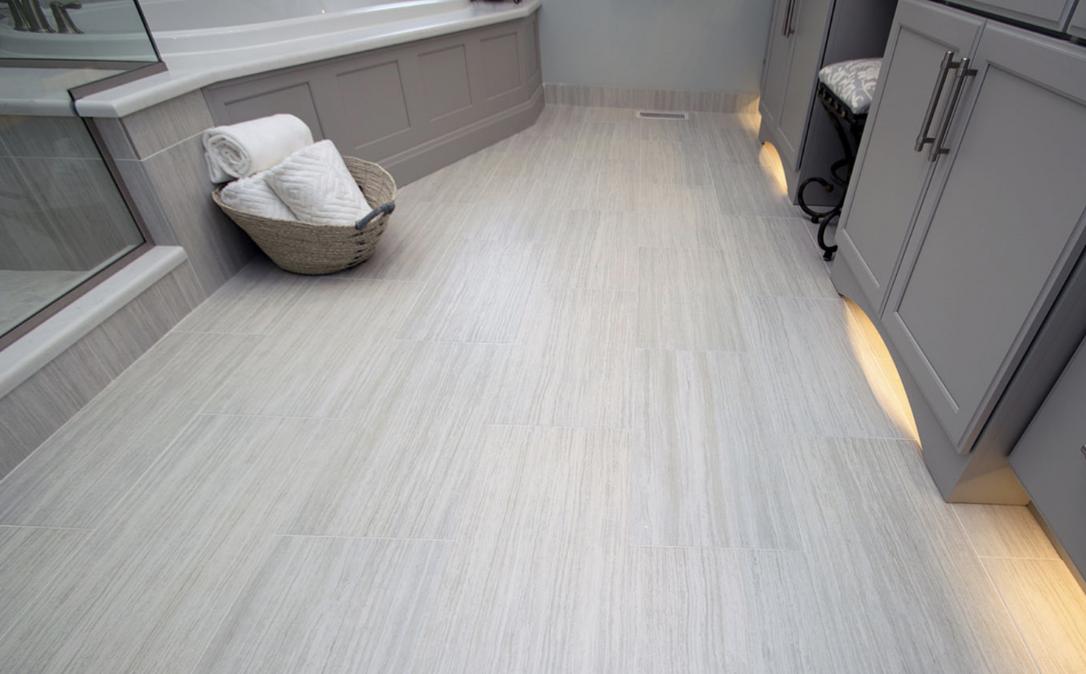 Bathroom Flooring Ceramic Vs Vinyl Tile Blog Masters Kitchen And Bath