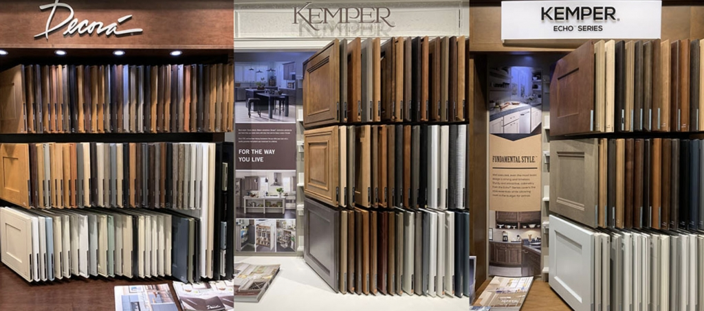 Best selection of decora and kemper cabinets