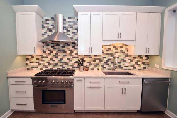 Chicago Kitchen Remodel with Cool backsplashes