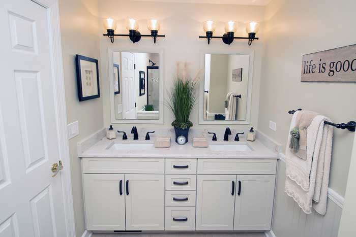 Full Hall Bathroom Remodel Glenview IL