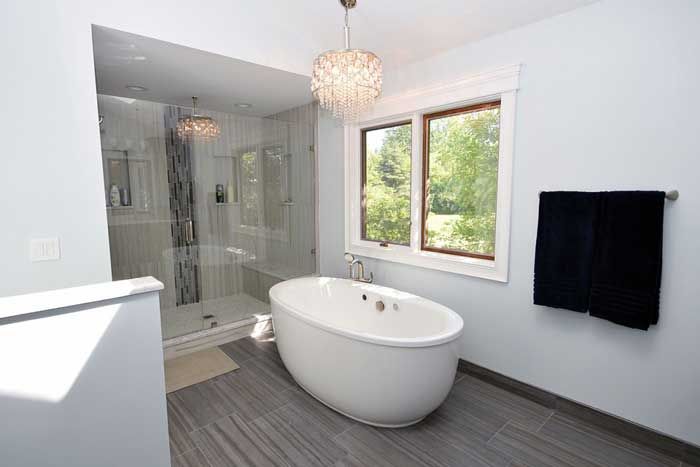 Long Grove Master Bath Full Remodel Company